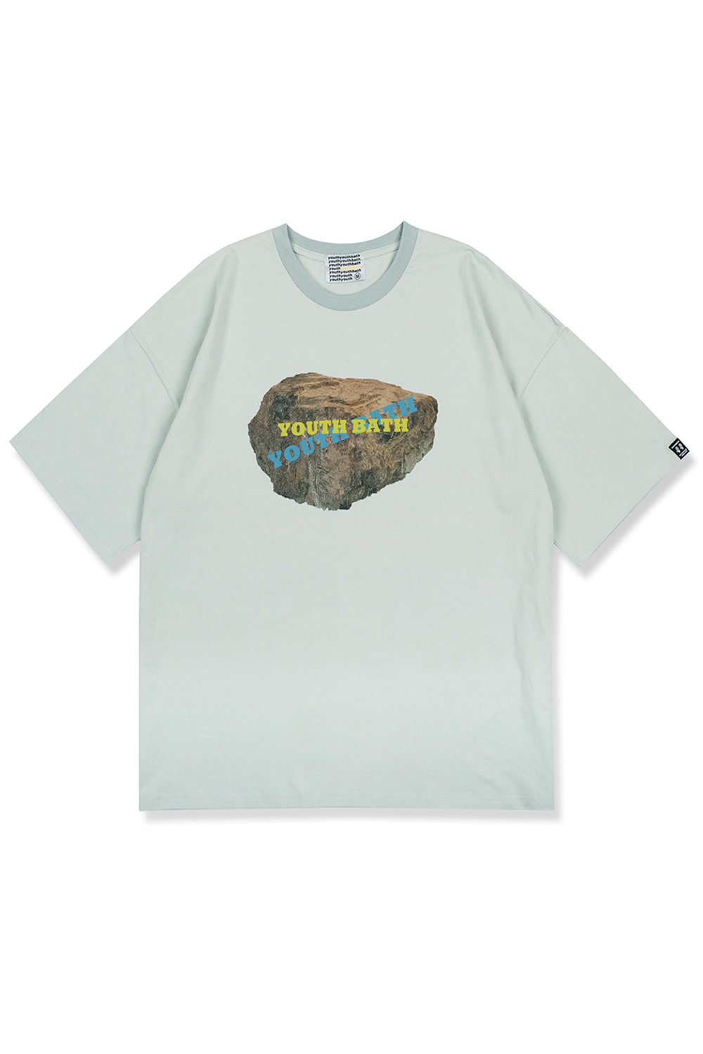 Graphic Short Sleeve T-shirts [Stone Mint]